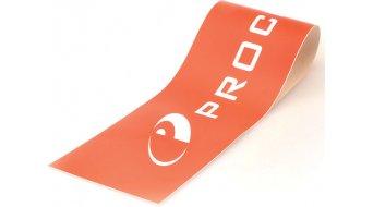 Procraft Aufkleber rot mit weißem Procraft-Logo 90x20cm