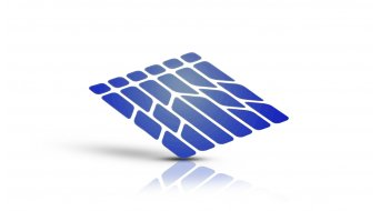 Riesel Design re:flex frame reflektierende Rahmen-Aufkleber Set blue