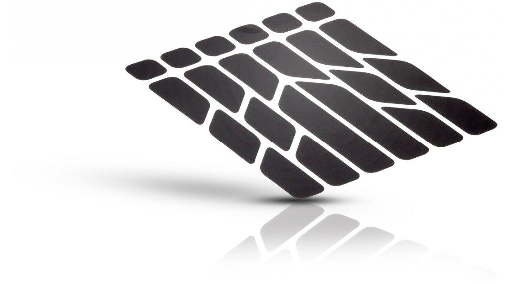 Riesel Design re:flex reflektierende Aufkleber Set black