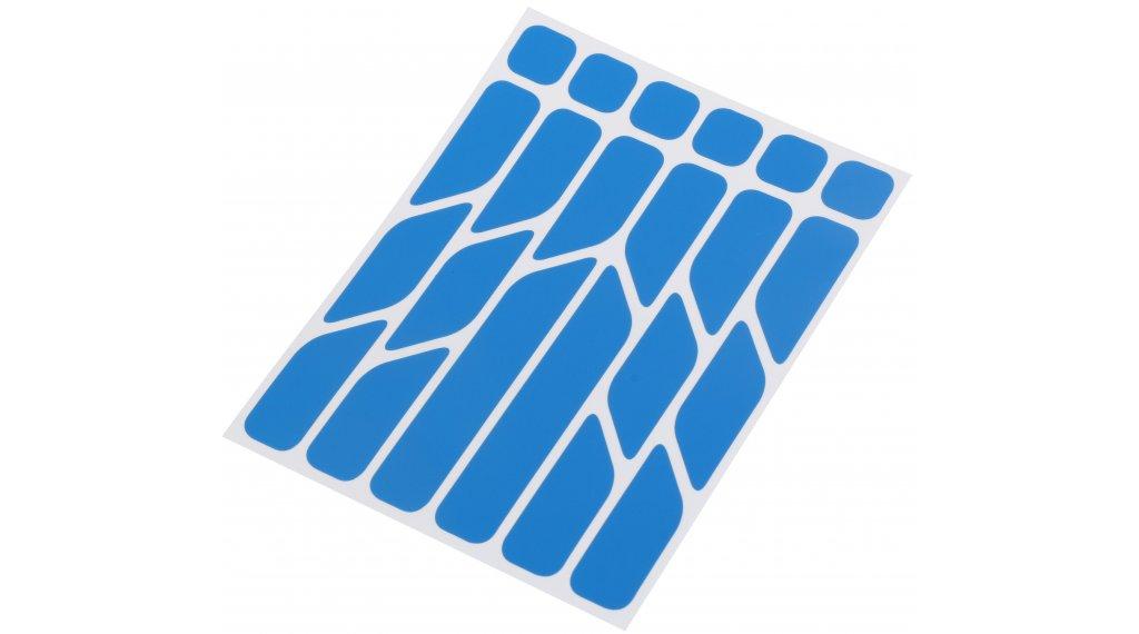 Riesel Design re:flex reflektierende Aufkleber Set blue