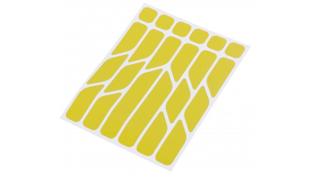 Riesel Design re:flex reflektierende Aufkleber Set yellow