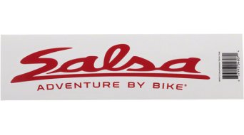 Salsa Adventure By Bike Aufkleber 15x4cm