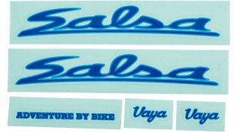 Salsa Vaya Travel Rahmen Decal Kit Aufkleberset