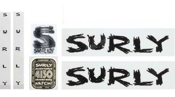 Surly ECR frame Dekor set black