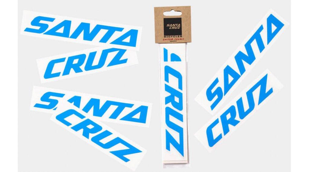 Santa Cruz Downtube Decal blue