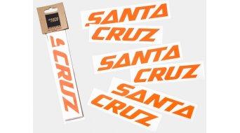 Santa Cruz Downtube Decal orange