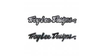 Troy Lee Designs Signature Aluminum Sticker Gr. 10
