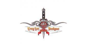 Troy Lee Designs Dagger 15cm x 20cm, Aufkleber