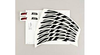 Zipp Aufkleberset für 303 MY14 - MY18 Tubular/Carbon Clincher mattschwarz