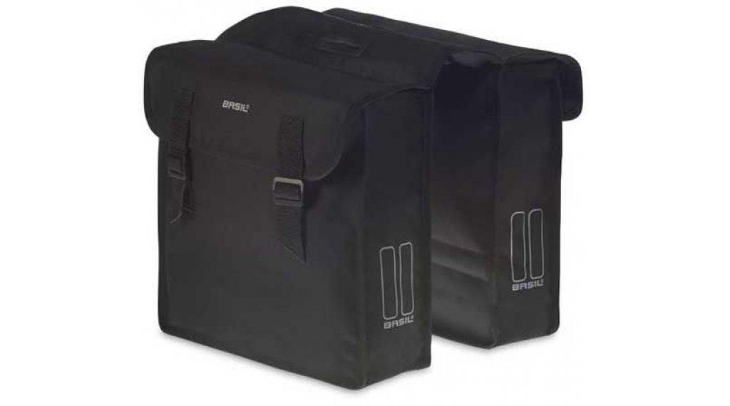 Basil Mara Doppeltasche L 26L schwarz