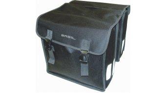 Basil Mara Doppeltasche XL 35L schwarz