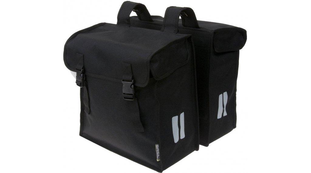 Basil Mara Doppeltasche XXL 47L schwarz