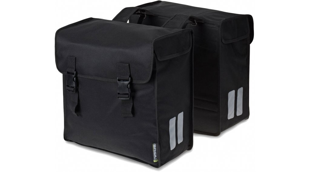 Basil Mara Doppeltasche XXXL 52L schwarz