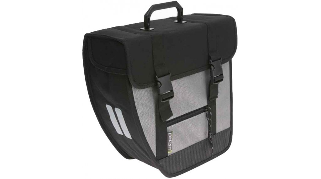 Basil Tour Seitentasche Single 17L rechts silber/schwarz
