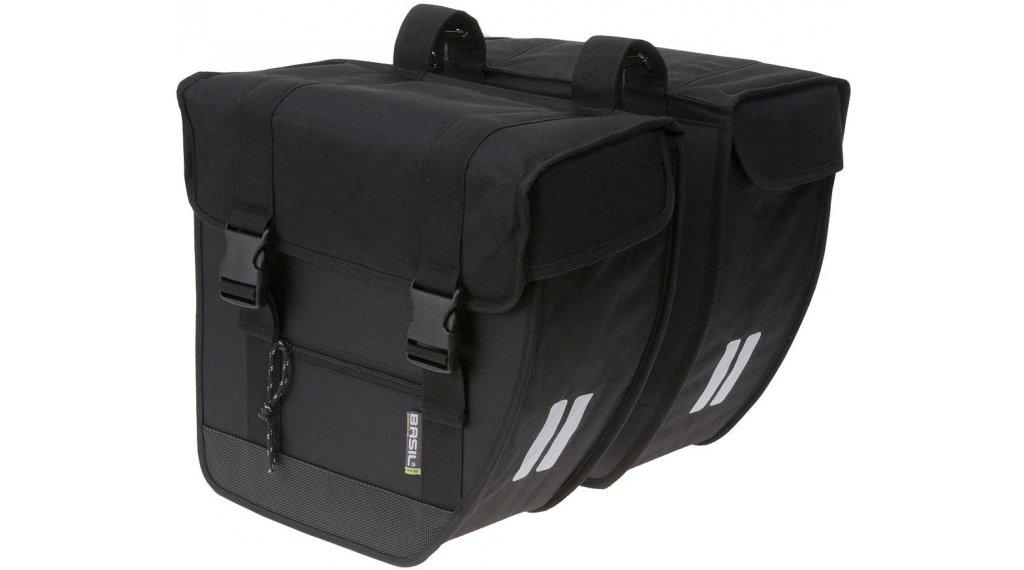 Basil Tour Doppeltasche L 26L schwarz
