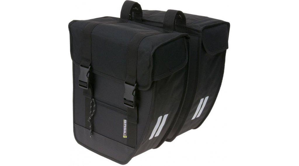 Basil Tour Doppeltasche XL 40L schwarz