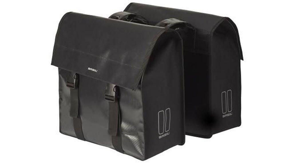 Basil Urban Load Doppeltasche 48-53L schwarz