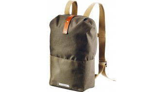 Brooks Dalston Knapsack Zaino per bici mis. Medium green fleck honey