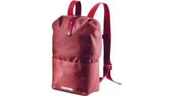 Brooks Dalston Knapsack mochila tamaño Medium rojo mancha maroon