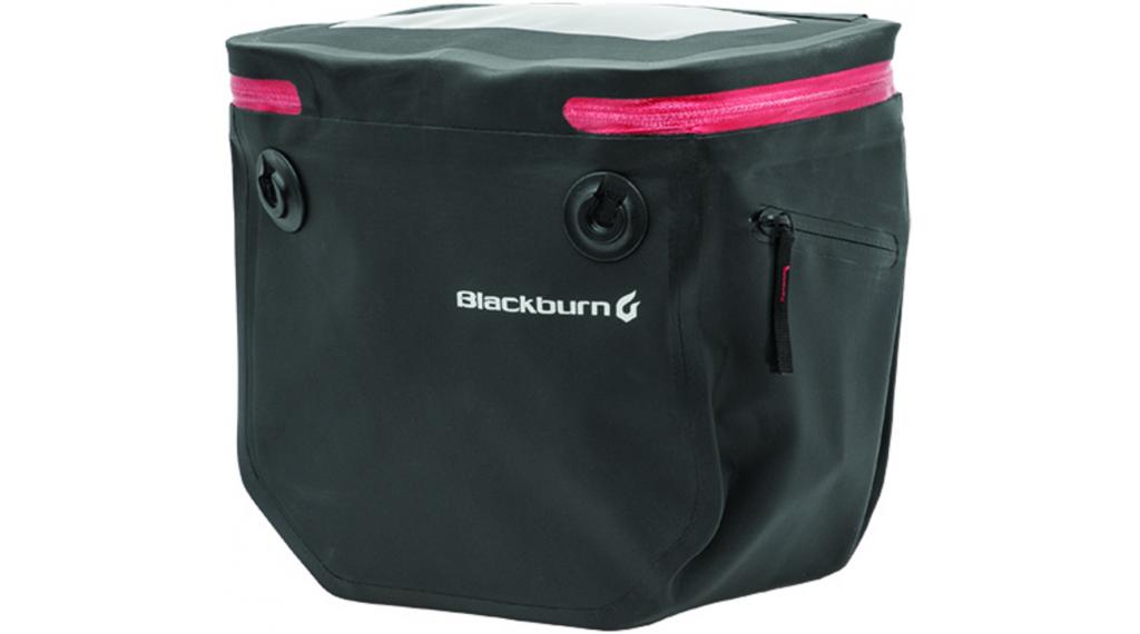 Blackburn Barrier handlebar Bag borsa per manubrio black/red