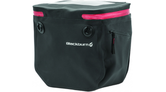 Blackburn Barrier handlebar Bag borsa per manubrio black/red