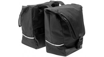 Bontrager Town Double Throw Hinterradtasche black