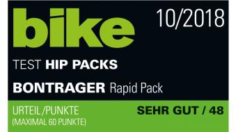 Bontrager Rapid Pack Hüfttasche black