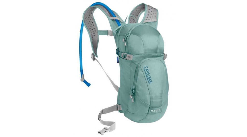 Camelbak Magic Trinkrucksack inkl. 2 Liter Trinkblase mineral blue/blue haze (5L Packvolumen)