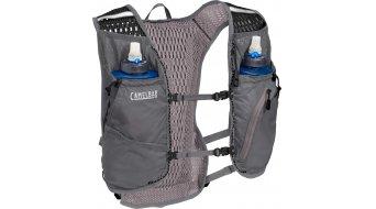 Camelbak Zephyr Trinkweste Trinkrucksack inkl. 2*500ml Trinkflaschen castlerock grey/black (10L-Packvolumen)