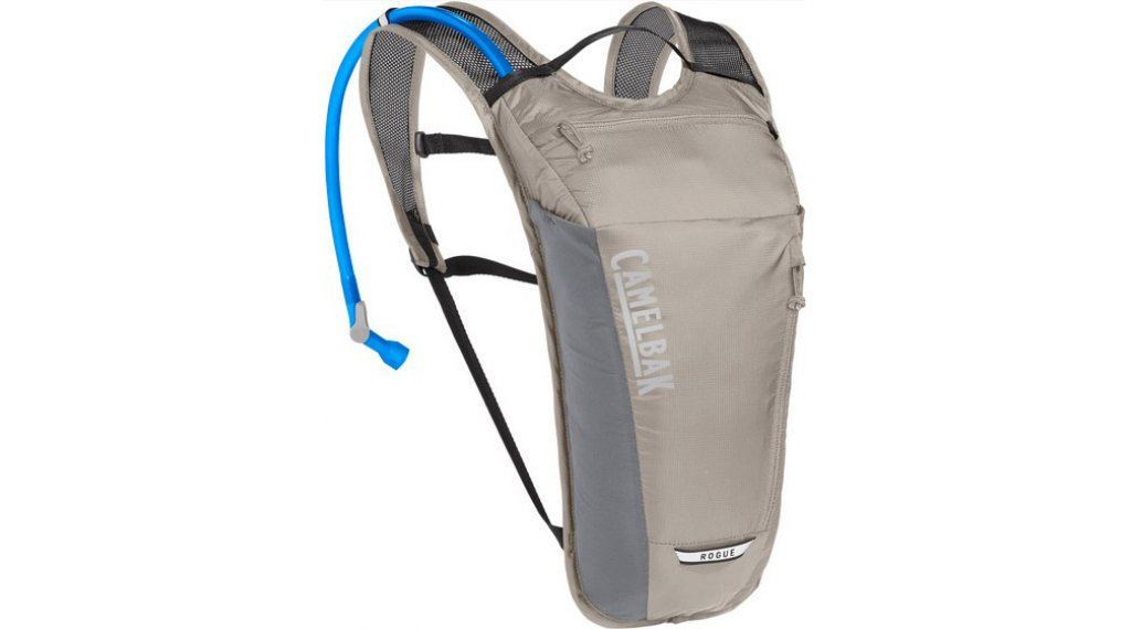 Camelbak Rogue Light zaino idrico incl. 2 litri-sacca idrica light alluminio minum/nero (2 litri- volume)
