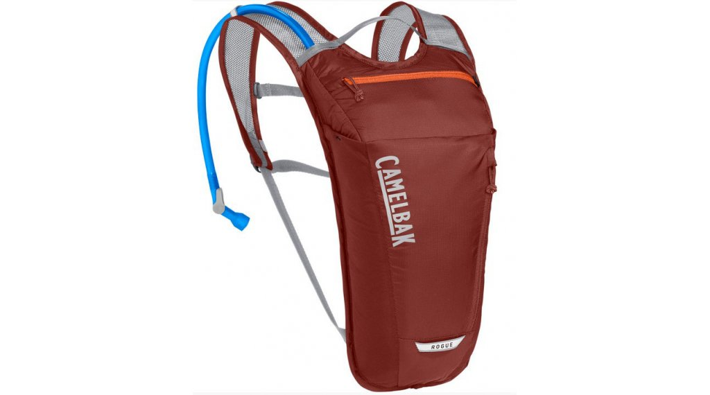 Camelbak Rogue Light zaino idrico incl. 2 litri-sacca idrica light fired brick/koi (2 litri- volume)
