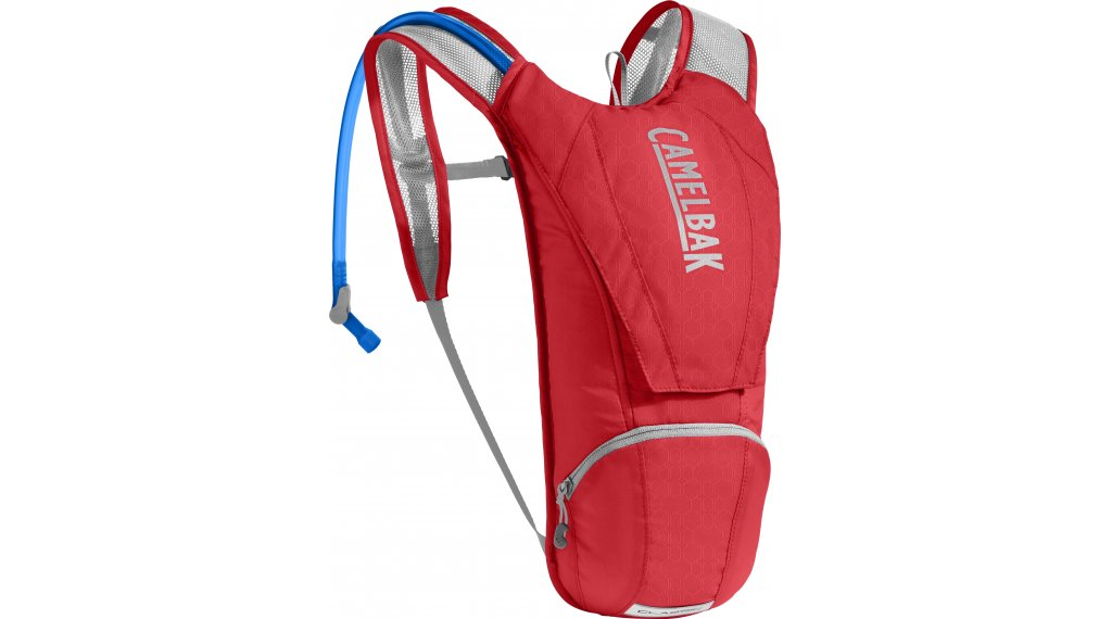 Camelbak Classic 水袋背包 含有2.5 公升-水袋 racing red/silver (3L-容积)