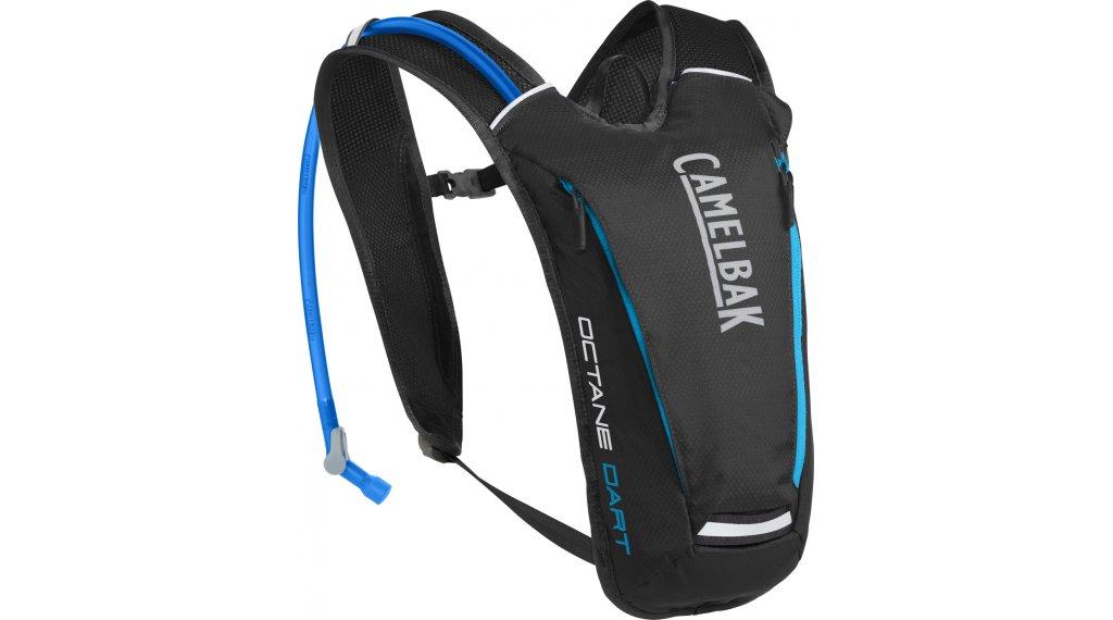 Camelbak Octane Dart 水袋背包 含有1.5 公升-水袋 black/atomic blue (4.5L-容积)