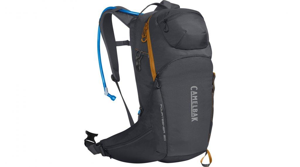 Camelbak Fourteener 20 水袋背包 含有3 公升-水袋 charcoal/rust 橙色 (20L-容积)
