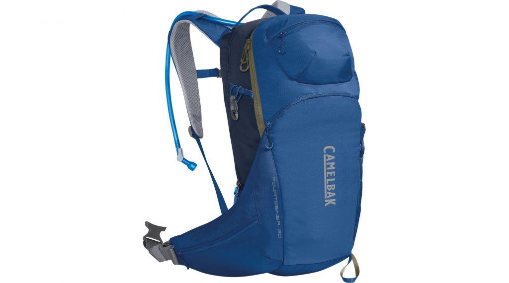 Camelbak Fourteener 20 水袋背包 含有3 公升-水袋 galaxy blue/navy blazer (20L-容积)
