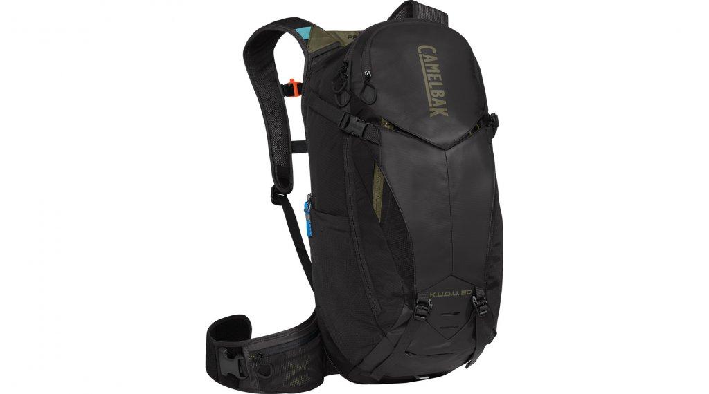 Camelbak K.U.D.U. Protector 20 Rucksack mit Rückenprotektor (ohne Trinkblase) Gr. S/M black/burnt olive