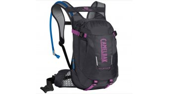 Camelbak Solstice LR 10 水袋背包 女士 含有3 公升-水袋 charcoal/light purple (10L-容积)