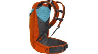 Camelbak K.U.D.U. Protector 10 双肩背包 有后背protektor (无 水袋) 型号 S/M red 橙色/charcoal