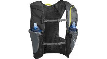 Camelbak Nano Trinkweste Trinkrucksack inkl. 2*500ml Trinkflaschen graphite/sulphur spring (1.5L-Packvolumen)