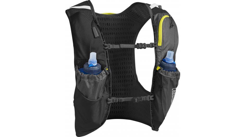 Camelbak Ultra Pro Trinkweste Trinkrucksack inkl. 2*500ml Trinkflaschen Gr. S graphite/sulphur spring (6L-Packvolumen)