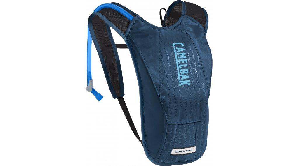 Camelbak Charm 水袋背包 女士 含有1.5 公升-水袋 gibraltar navy/Lake blue (1.5L-容积)
