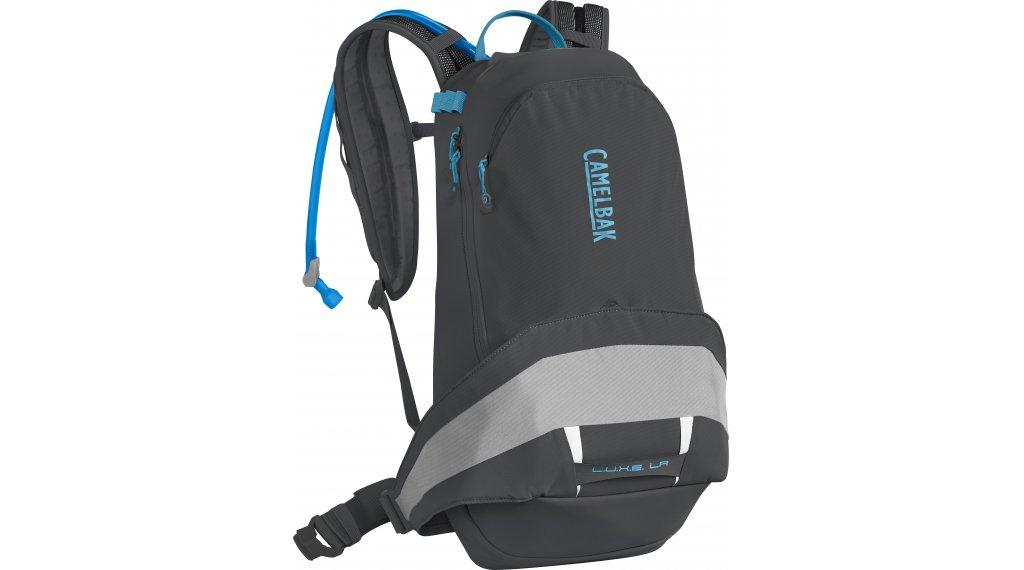 Camelbak L.U.X.E. LR 14 水袋背包 女士 含有3 公升 水袋 charcoal/silver (14L-容积)