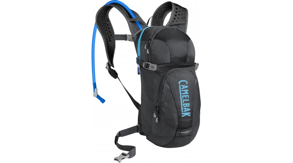 Camelbak Magic 水袋背包 女士 含有2 公升-水袋 charcoal/Lake blue (7L-容积)
