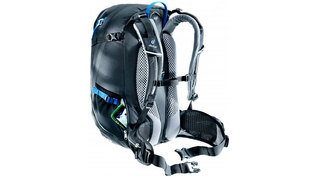 3ffbd6214e0e Deuter Trans Alpine 30 backpack black-graphite