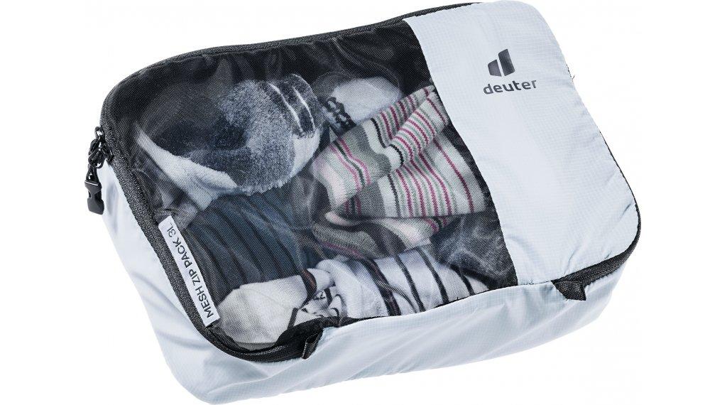 Deuter Mesh Zip Pack Packtasche 3 tin-black