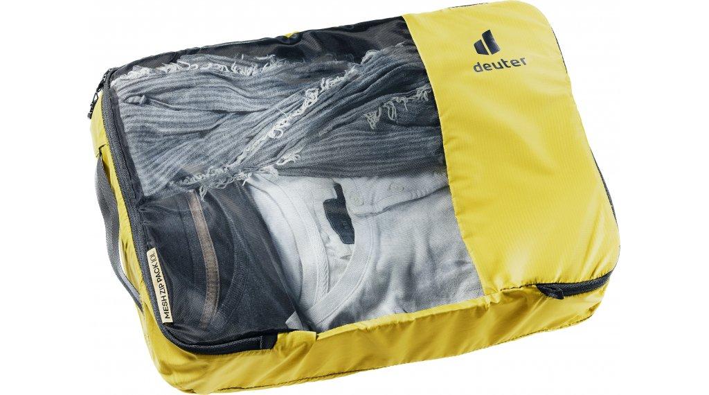 Deuter Mesh Zip Pack Packtasche 10 turmeric-black