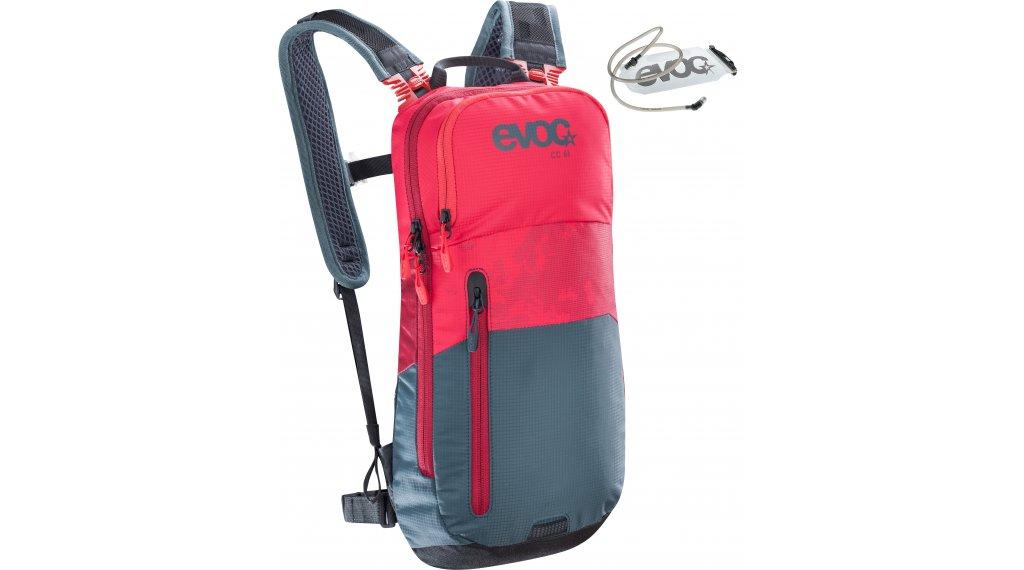 EVOC CC 6L+2L Rucksack mit Trinkblase red-slate Mod. 2020