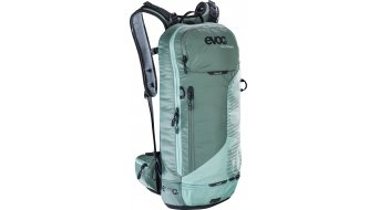 EVOC Freeride Lite Race 10L backpack with Anti-Impact system size M/L olive-light petrol 2018