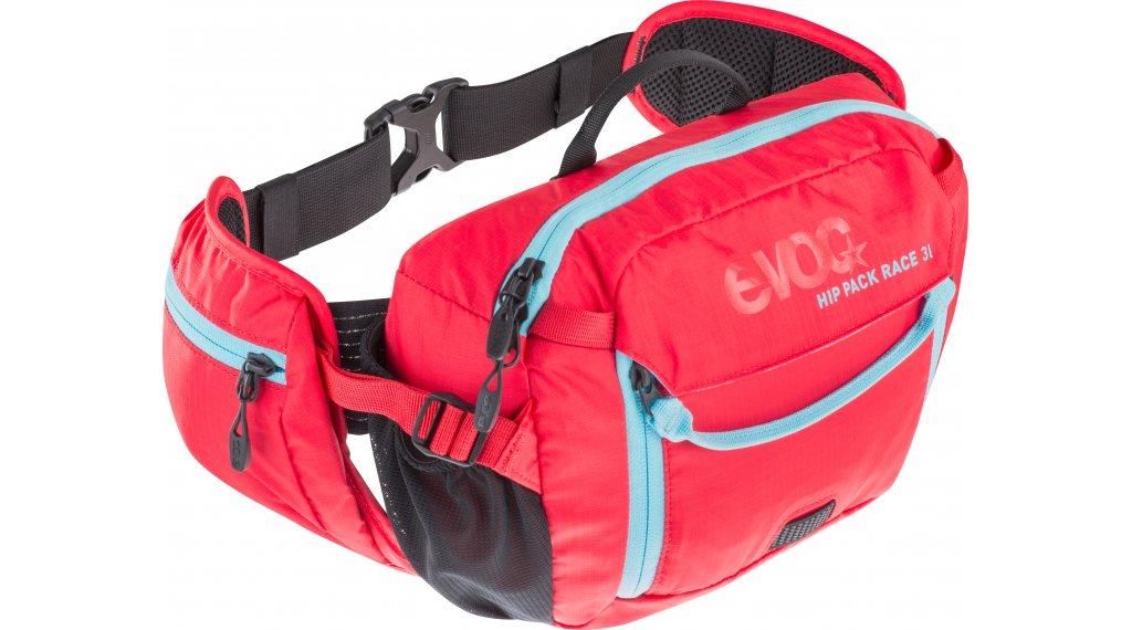 EVOC Hip Pack Race 3L belt bag incl. 1.5L reservoir red-neon blue 2019