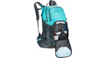 EVOC Explorer PRO 30L 双肩背包 slate-heather neon blue 款型2020